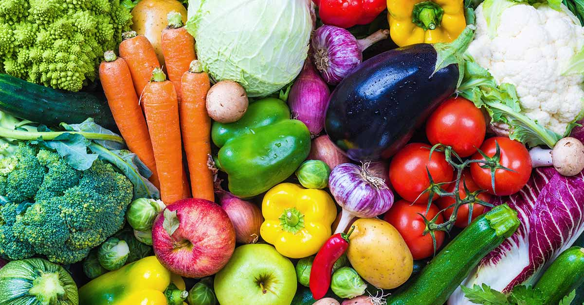 immagine con alcuni degli alimenti benefici da inserire nella dieta per la prostata